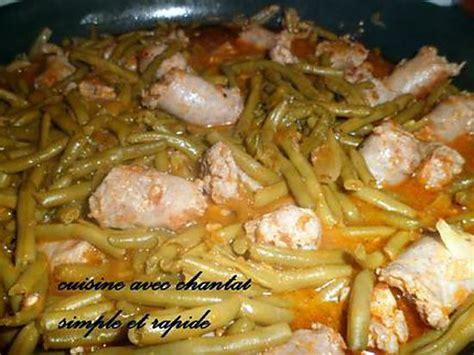 foodies recette cuisine recette de saucisses aux haricots verts en sauce tomate