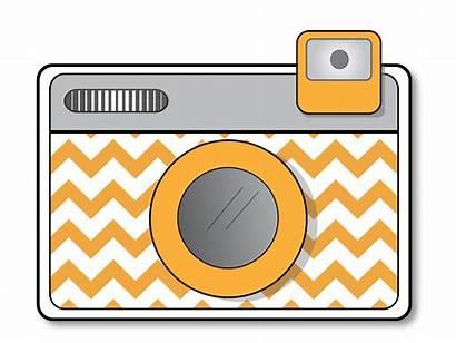 Camera Clip Clipart Cliparts Dslr Cameras Drawing