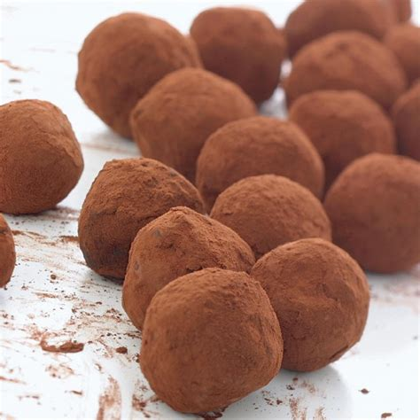 home  chocolate truffles recipes delia