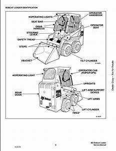 Bobcat 463 Skid Steer Loader Service Repair Workshop Manual 538911001