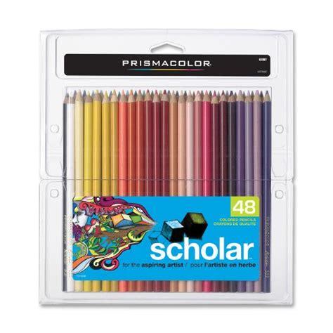 prismacolor scholar colored pencils prismacolor scholar colored pencils set of 48 assorted
