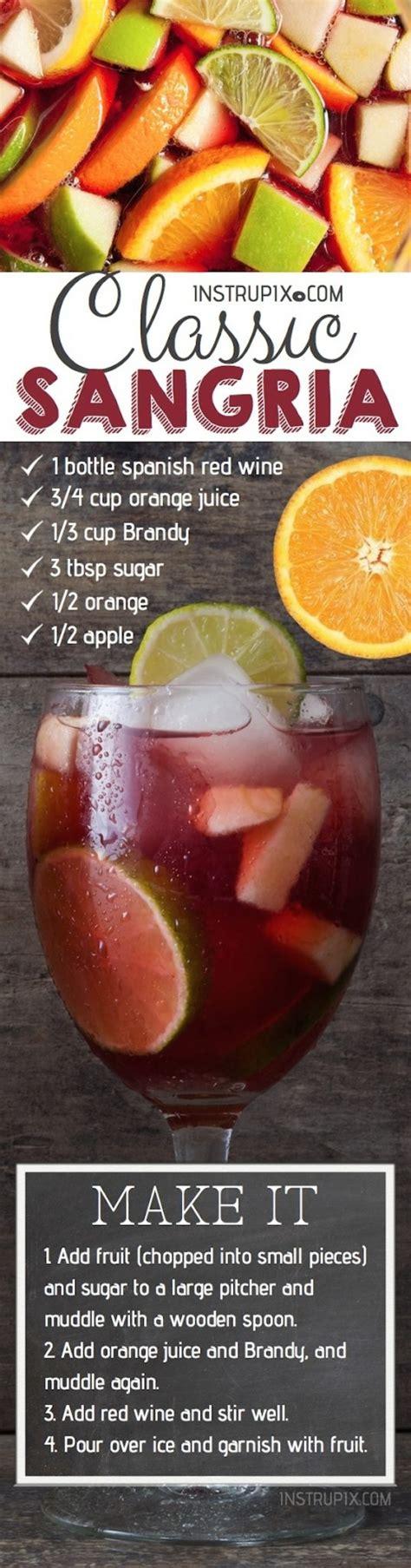 wine sangria recipe easy classic red sangria recipe