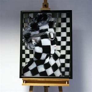 Kunst Schwarz Weiß : 3d bild caro kunst schwarz wei gesicht fotografie 3d bilder kunst ~ A.2002-acura-tl-radio.info Haus und Dekorationen
