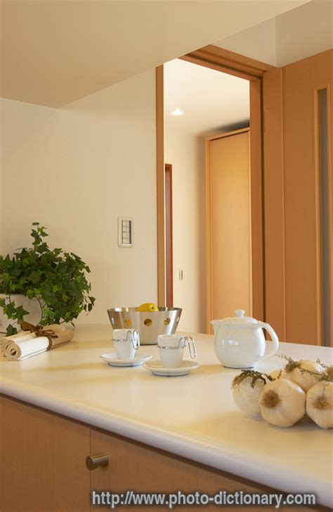 Kitchen Counter Definition by Kitchen Counter Photo Picture Definition At Photo