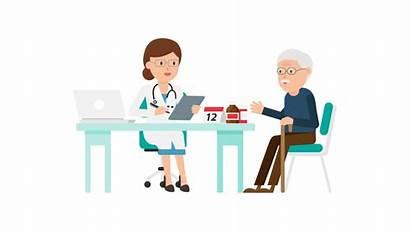 Doctor Patient Cartoon Svg Commons Pixels Wikimedia
