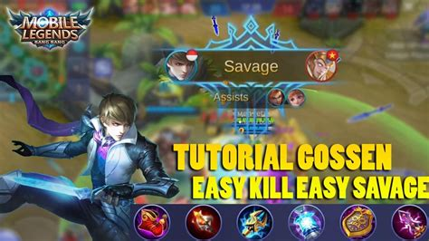 Gossen Easy Kill Easy Savage Tutorial Dan Full Build By