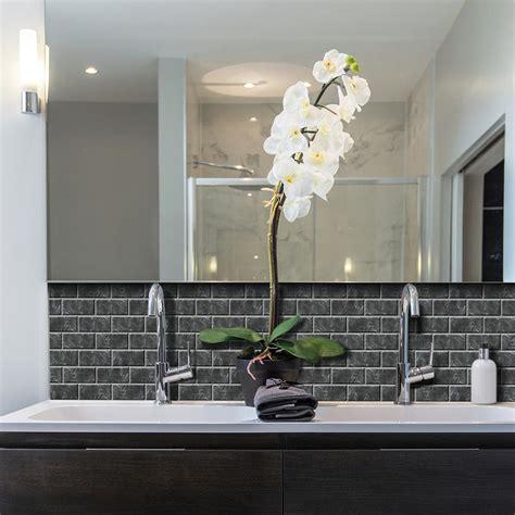 wall tiles kitchen backsplash smart tiles subway marbella 10 95 in w x 9 70 in h peel