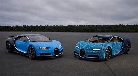 Lego and bugatti have only gone and made a 1:1 full size working model of the chiron! Lego built a life-size Bugatti Chiron that can be driven and people are going wild   Trending ...