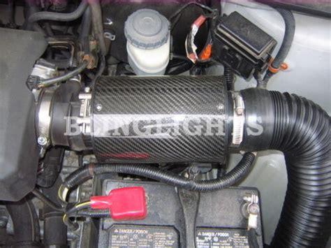 honda ridgeline carbon fiber cold air intake