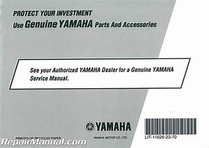 2010 Yamaha Fjr1300 Motorcycle Owners Manual
