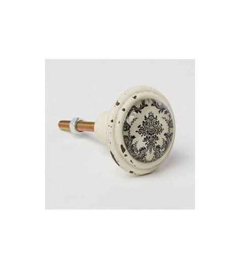 bouton porte de cuisine bouton de meuble baroque noir et blanc boutons mandarine com