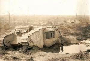 Destroyed Tanks WW1