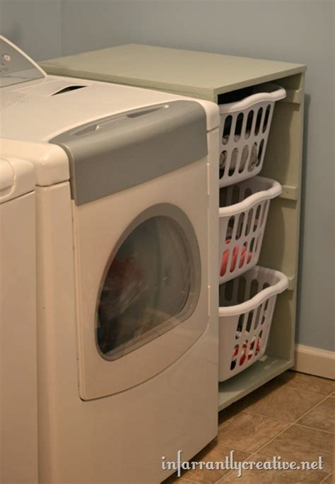laundry basket dresser for laundry basket dresser add wheels to roll out for easy