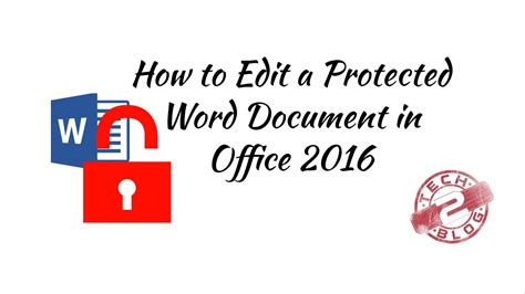 hd   edit  protected word document  office