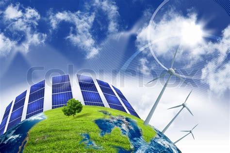 collage  solar batteries  alternative source