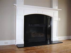 black, fireplace, tile, ideas