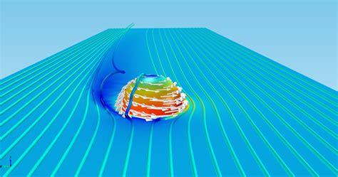 Использование эффекта вращения турбулентности и эффекта магнуса . блог comsol