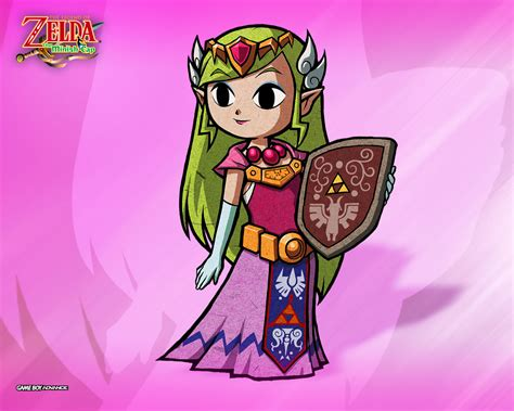 Zelda The Minish Cap - Official Wallpapers / Desktops