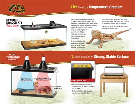 what kind of heat l for bearded dragon upgraded deluxe bearded dragon kit terrarium zilla