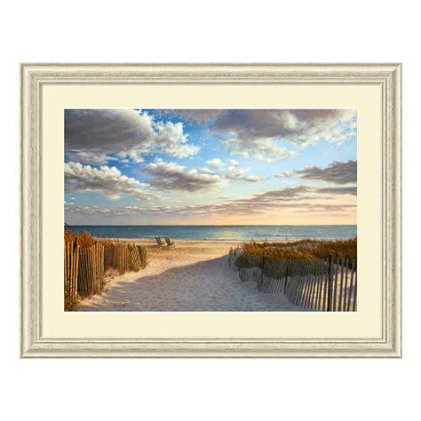 Sunset Beach Framed Wall Art  Wall Art At Hayneedle