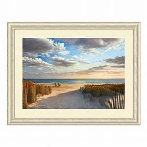Sunset, Beach, Framed, Wall, Art