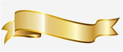 Ribbon Clipart Ribbons Golden Transparent Banner Clip