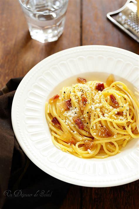 recette pates al italienne p 226 tes 224 la carbonara la vraie recette italienne et trois secrets pour la r 233 ussir un