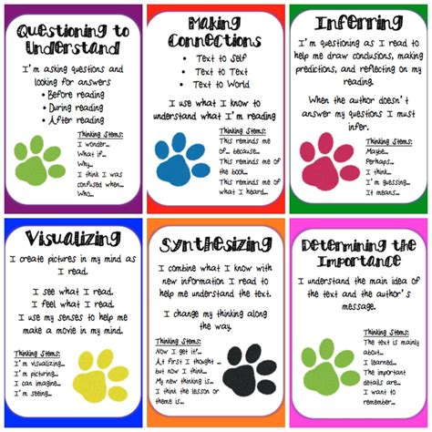 My Life According To Pinterest Reading Comprehension Strategies Posters {freebie}