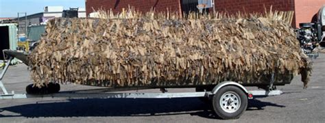 Duck Boat Shaggy Blind by Shaggy Boat Blind Backwater Performance