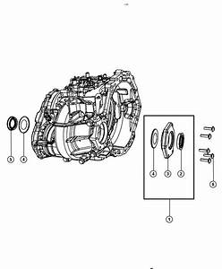 2017 Dodge Journey Extension  Transmission  Adapters