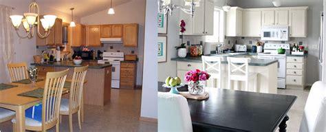 repeindre sa cuisine avant apres repeindre ses meubles de cuisine avant après