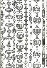 Coloring Necklace Chain Beads Lynch Ross Chains sketch template