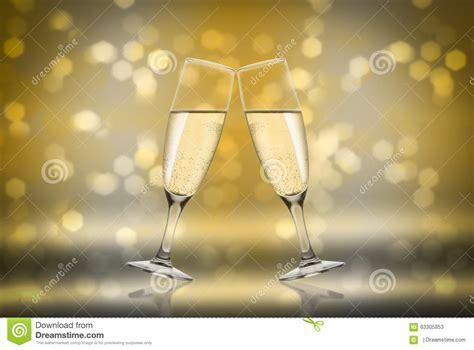 Toast Champagne Stock Photo