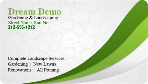 garden company names 2x3 5 gardening and landscaping business card round corner full color magnet 20 mil business
