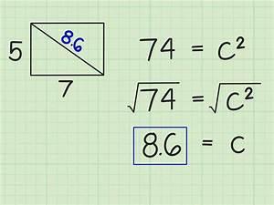 Rechteck Diagonale Berechnen : die diagonale in einem rechteck berechnen wikihow ~ Themetempest.com Abrechnung