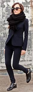 All black outfits for office by Style Advisor