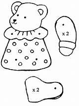 Puppet Coloring Bear Preschool Worksheets Kindergarten Comment Crafts Preschoolactivities sketch template