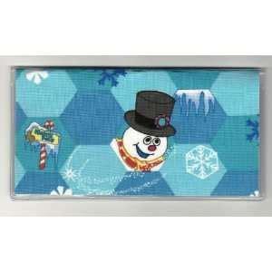 frosty friends snowman shower curtain by