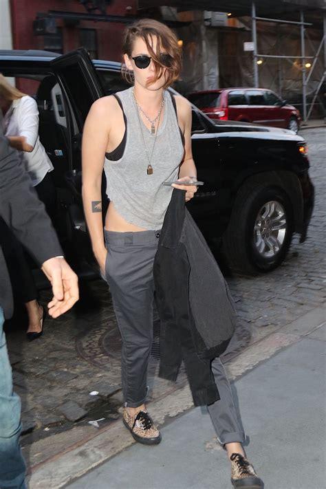 Kristen Stewart - Outside Her Hotel in New York City ...
