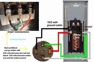 I Have A Problem Wiring A Leviton 30 Amp Dryer Receptacle