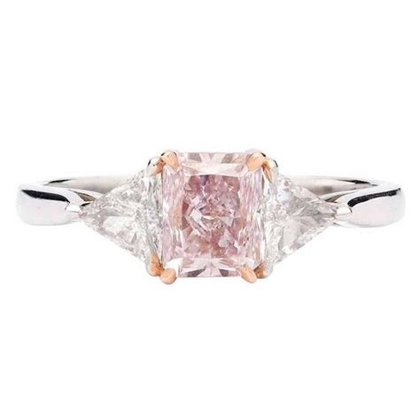 Custom Home Interiors - j e caldwell gia natural fancy purplish pink diamond platinum engagement ring for sale at 1stdibs