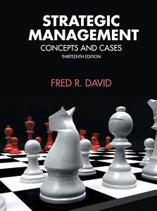 apa citation of a textbook david strategic management pearson