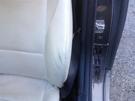siege bmw z3 réparation de griffures sur cuir auto d 39 une bmw z3 à aix