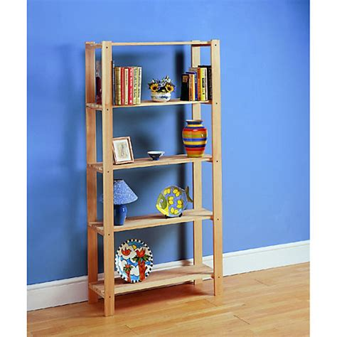 Wickes Bookcase by Wickes 5 Tier Pine Shelving Unit Wickes Co Uk