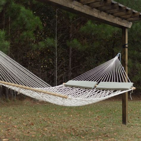 Cotton Hammocks by Xl 60 Quot Wide Soft Spun Cotton Rope Hammock Dfohome
