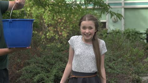 A Tween Girl Takes The Stock Footage Video 100 Royalty Free 7180756 Shutterstock
