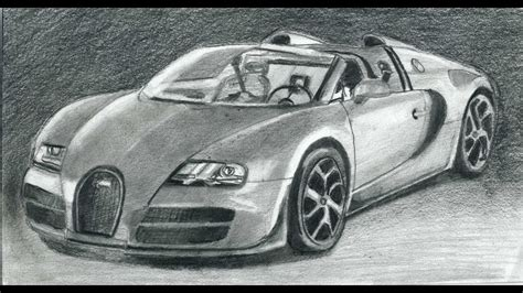 Signup for free weekly drawing tutorials please enter your email address receive free weekly tutorial in your email. YouDraw: How to Draw Bugatti Veyron Super Car Step By Step - YouTube
