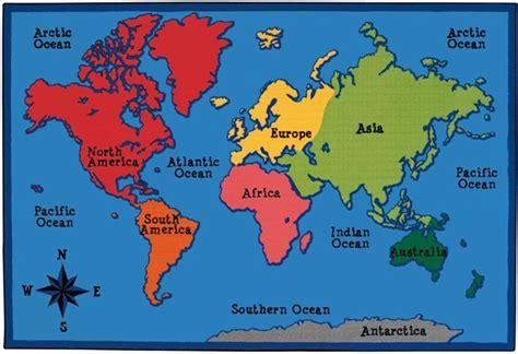 world map  rug rectangle    cfk carpets