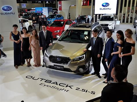 Motor Image Launches Subaru Outback & Xv With Eyesight At