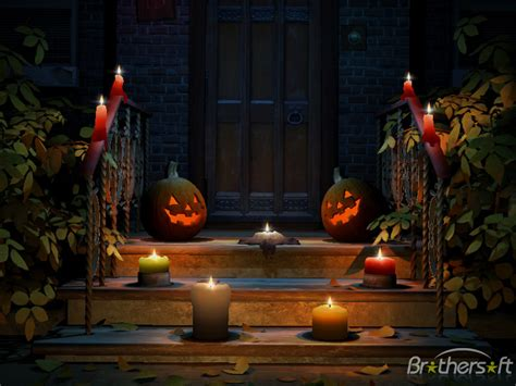 3d Halloween Computer Wallpaper Wallpapersafari